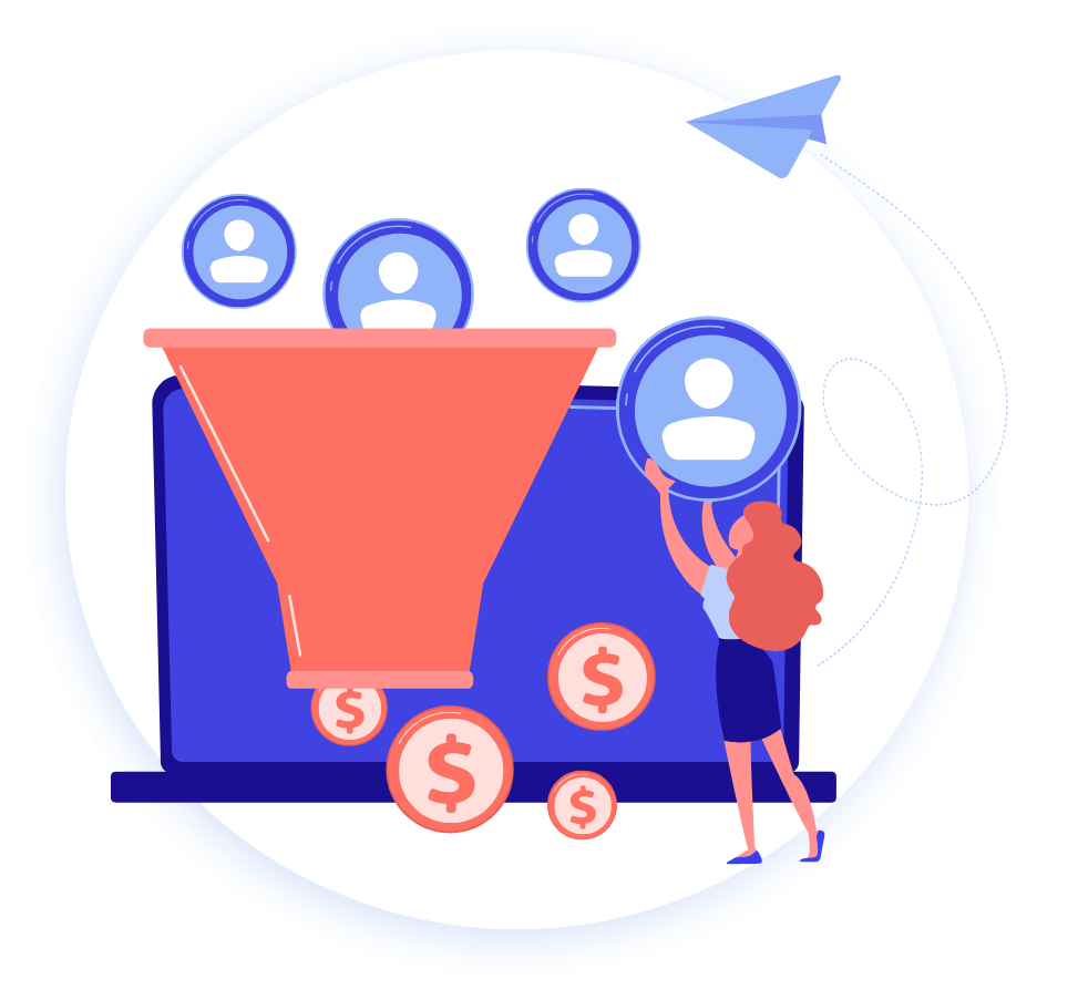 persona funnel - Online Advertising Services