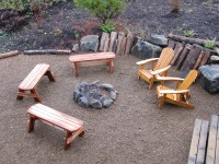 New Fire Pit Seats | The Bramble Berry House at Seabrook