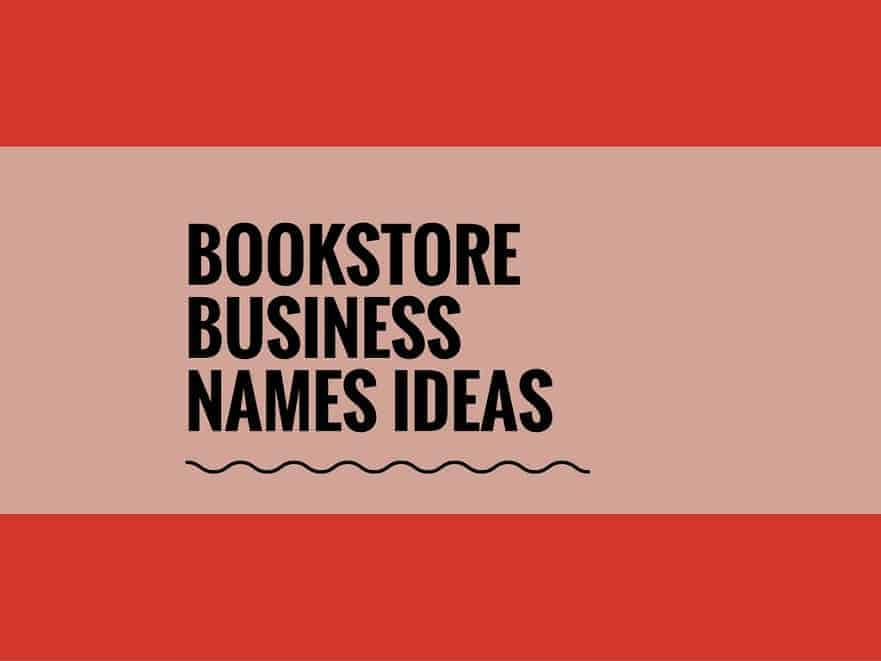 68 Catchy Bookstore Business Names Ideas