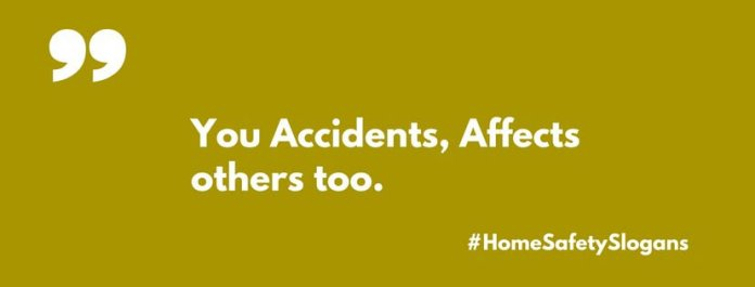 catchy home safety slogans