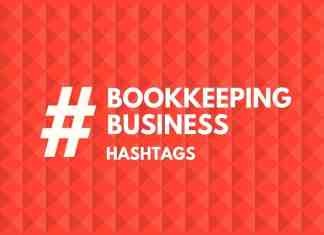 hashtags for book keeping business