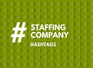 hashtags for staffing Company
