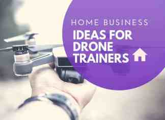 home business ideas for drone trainer