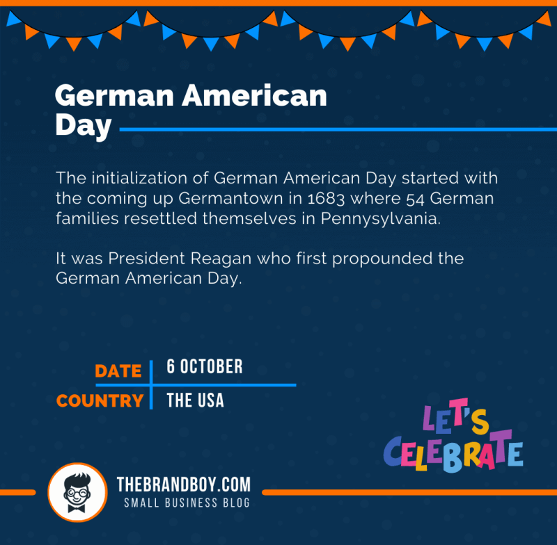 about german american day