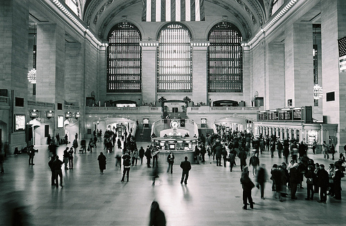 Grand Central terminal, NYC - photo by Olivier Blanchard