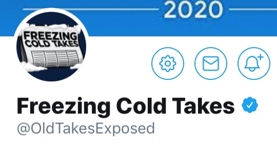 Follow Friday: Freezing Cold Takes