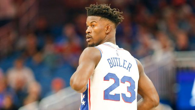Notoriously Bad Teammate Jimmy Butler Gave Everyone In The Sixers Organization A Thank You Gift