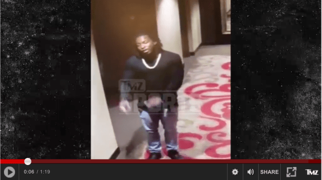 """TMZ Just Published Video Footage Of Kareem Hunt's """"Incident"""" And It's Disgusting"""