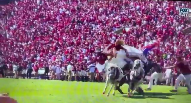 Oklahoma Has Never Covered A Live Spread When The Boomer Schooner Goes Down – Go! Go! Go