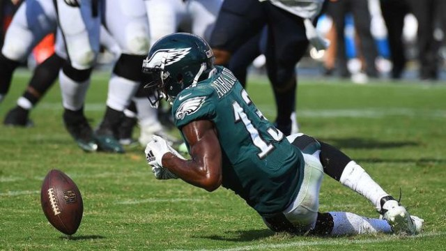 Nelson Agholor's Burner Account Found?