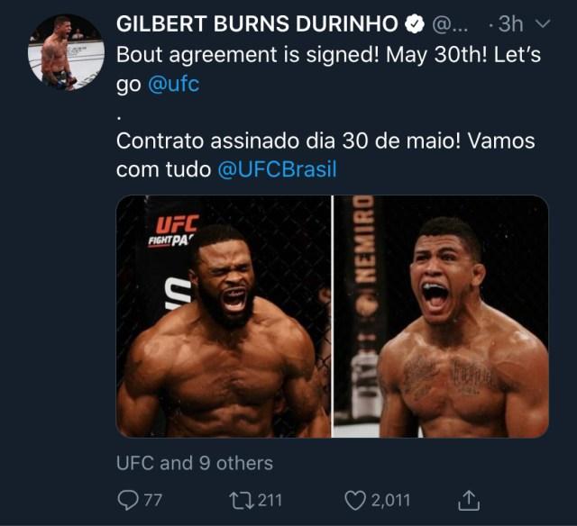 https://twitter.com/GilbertDurinho/status/1262726385837264898