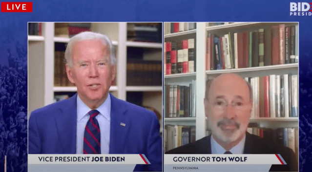 Betting Odds On Joe Biden Was The One That Ripped A Massive Fart While Interviewing PA Governor