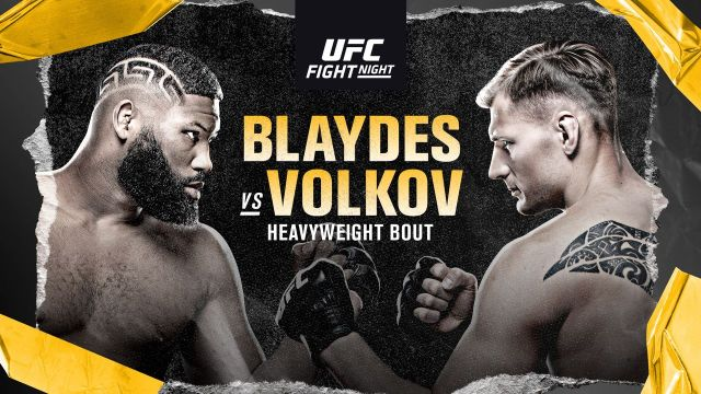 What To Expect From UFC Fight Night: Blaydes vs Volkov