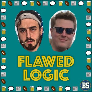 Flawed Logic Podcast Art