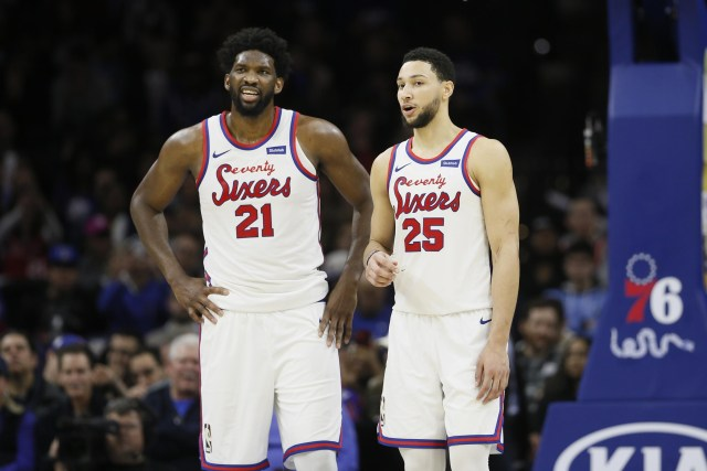 The 76ers Think Letting Their Two All Stars Run The Pick And Roll Could Be Good