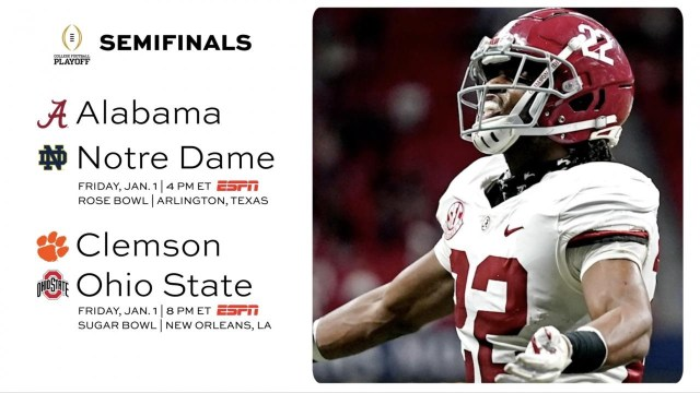 Makeup Dates For College Football Playoff
