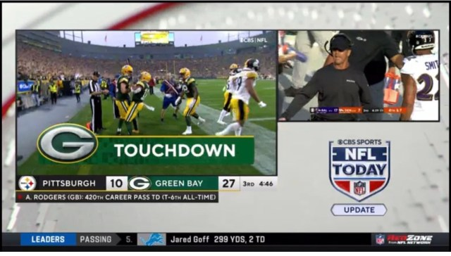 WATCH: Nate Burleson Drops All-Time 4/20 Joke About Rodgers TD On RedZone