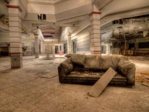 centro de ocio abandonado