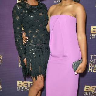 2014 BET Networks Upfront - Backstage - New York