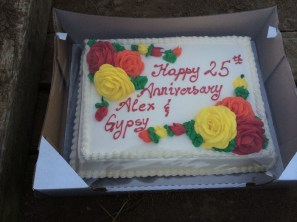 25th anniversary Gypsy and Alex