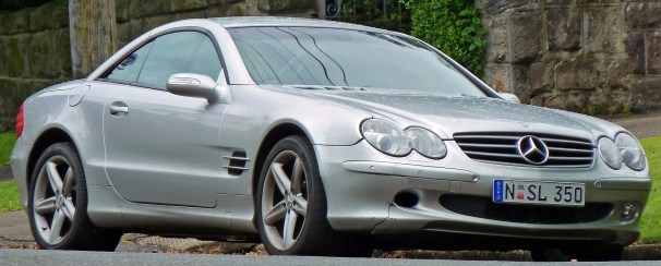 mercedes sl - used luxury cars that make you look wealthy