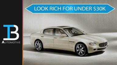 used luxury cars that make you look wealthy