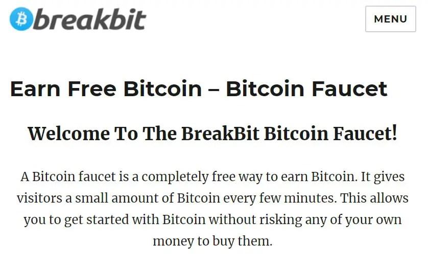 Bitcoin Faucets - Ways To Earn Free Bitcoin
