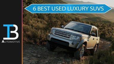 best used luxury suvs