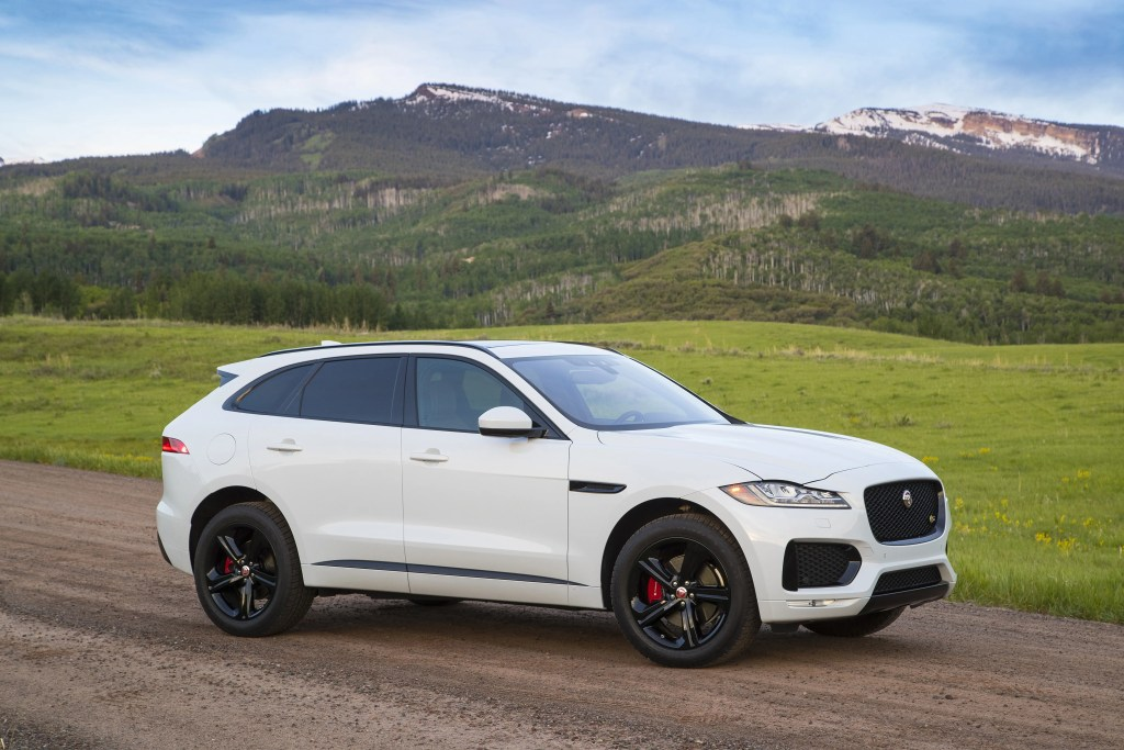 Jaguar F-Pace - Best Used Luxury SUVs