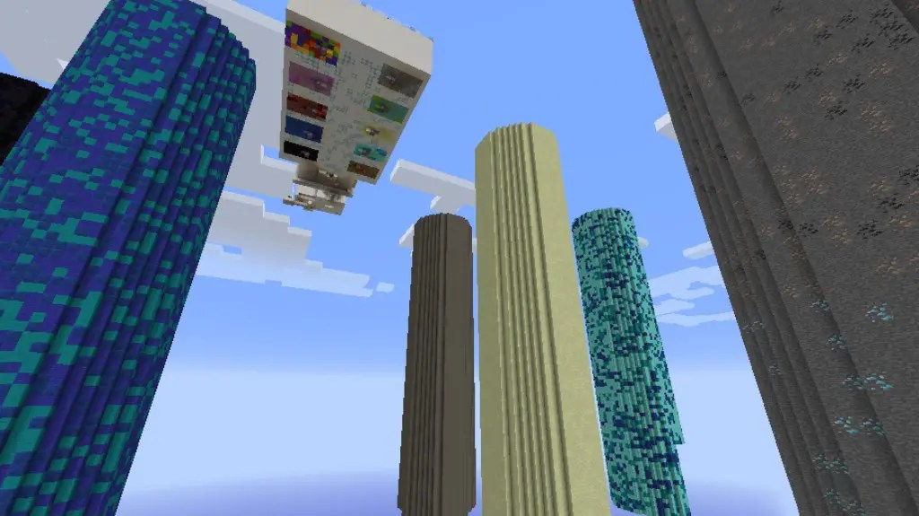 Impossible Dropper Map for Minecraft 1.12.2