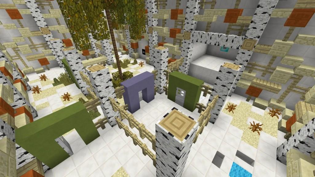 undo! puzzle map for minecraft 1.12