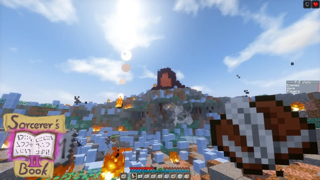 Sorcerer's Book 2 - Minecraft Custom Maps You Must Try