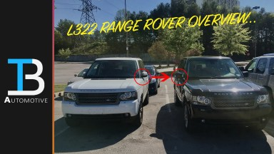 l322 range rover overview
