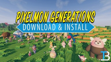How To Download & Install Pixemon Generations in Minecraft