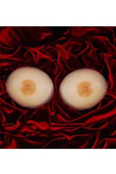 Secret shape silicone breast enhancer with nipples