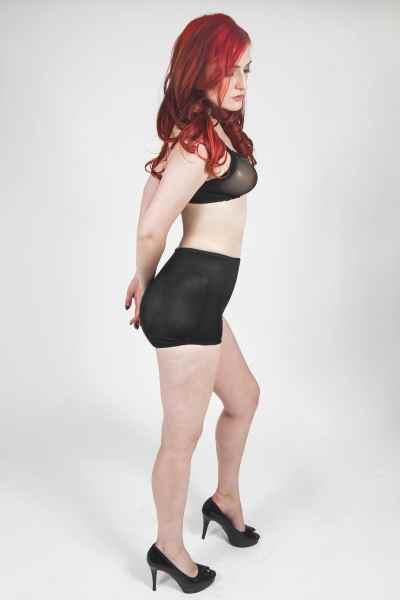 See-Thru Bra with TRANSFORM Hip & Rear Padded Panty
