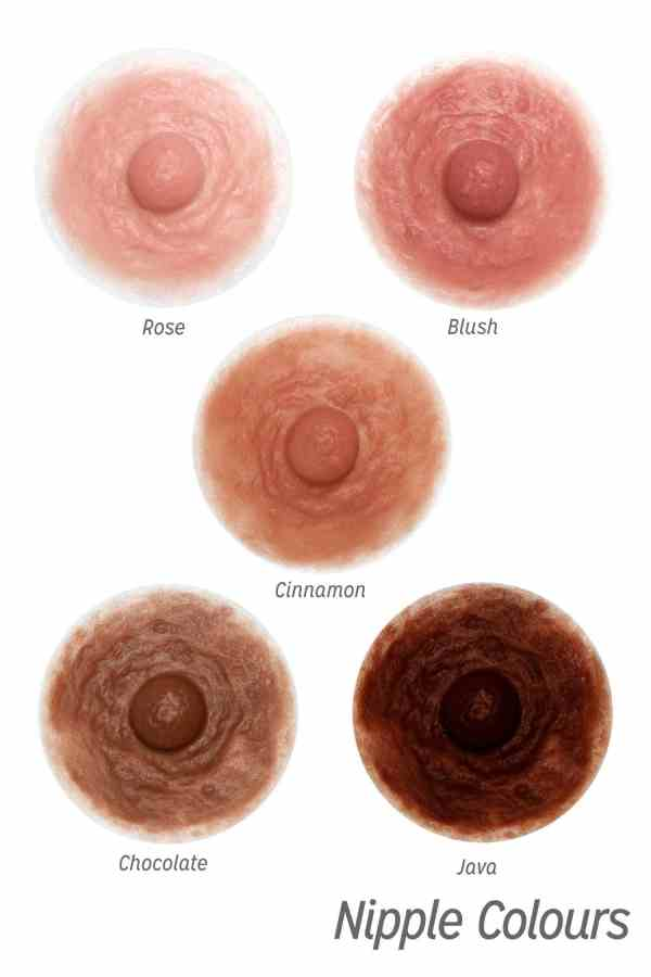 Divine Collection nipple colours