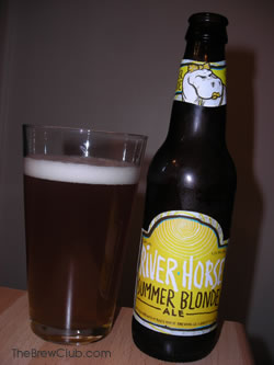 River Horse Summer Blonde The Brew Club