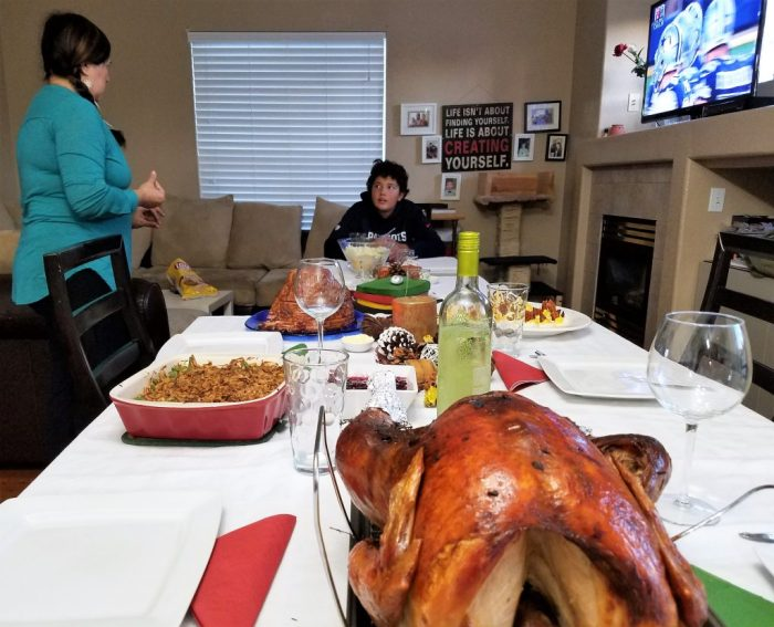 Thanksgiving was YUMMY