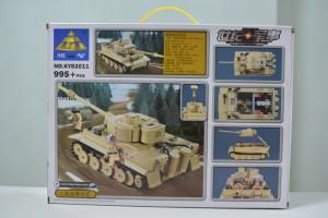 Kazi 82011 Tiger Box Back