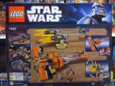 LEGO 7962 Star Wars Anakin Skywalker and Sebulba's Podracers Box Back
