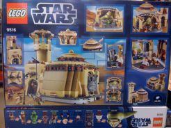 Lego Jabba's Palace 9516 Box Back