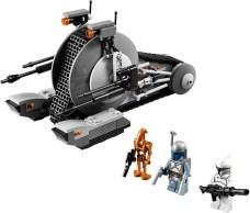 LEGO 2013 Corporate Alliance Tank Droid | Set 75015 Figures