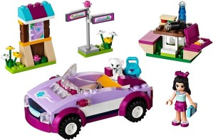LEGO Friends Emmas Sports Car 41013