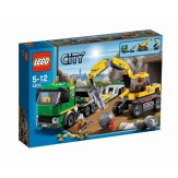 Lego City Excavator Transporter Box 4203