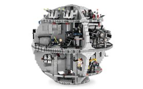 Lego Death Star 10188 180 degree view