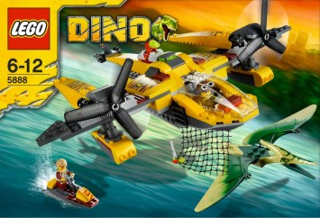 Lego Dino Pteranodon Chase 5888 Box