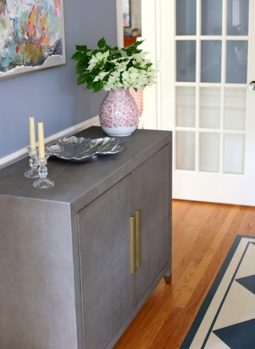 Dining Room Mini Makeover with a New Buffet and Paint
