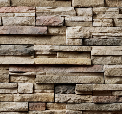 Cultured Stone ProFit Alpine Ledgestone Chardonnay Stone Veneer  The Brickyard