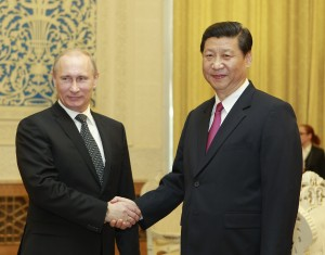 Putin and Xi say the one way to end the Syrian crisis is through dialogue [Xinhua]